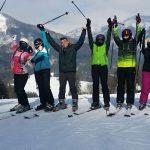 Prváci na lyžiach